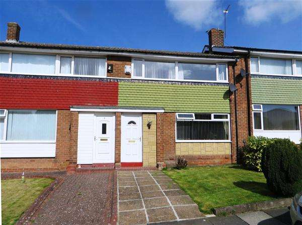 3 Bedrooms Semi Detached House for sale in Chadderton Drive, Newcastle upon Tyne