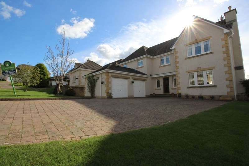 4 Bedrooms Detached House for sale in Drum Gate, Abernethy, Perth, PH2