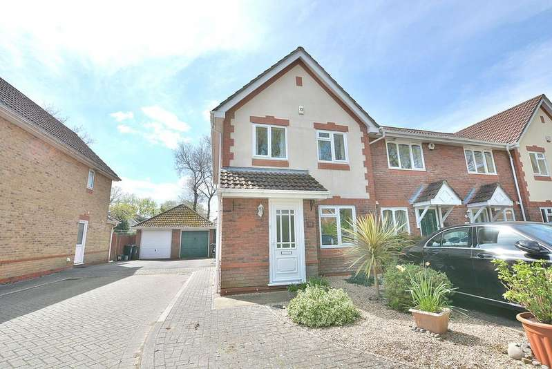 3 Bedrooms End Of Terrace House for sale in Hainault Drive, Verwood