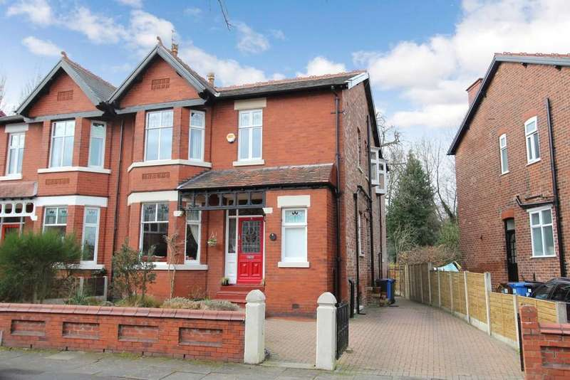 5 Bedrooms Semi Detached House for sale in Earl Road, Heaton Moor