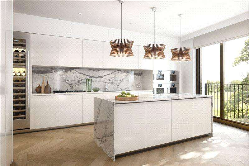 3 Bedrooms Flat for sale in G8, St. Edmund's Terrace, London, NW8