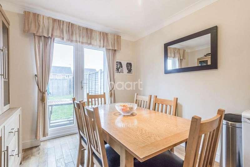 4 Bedrooms Semi Detached House for sale in Hatfield Garden Village