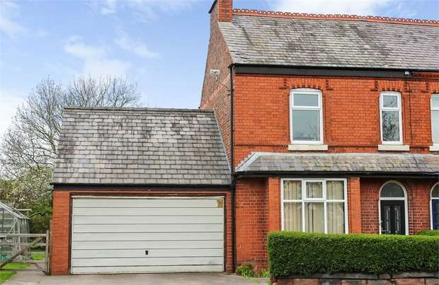 3 Bedrooms Semi Detached House for sale in Rushgreen Road, Lymm, Cheshire