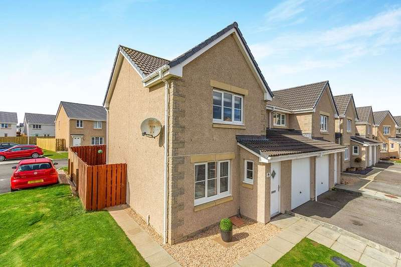 3 Bedrooms Semi Detached House for sale in Thornhill Drive, Elgin, IV30