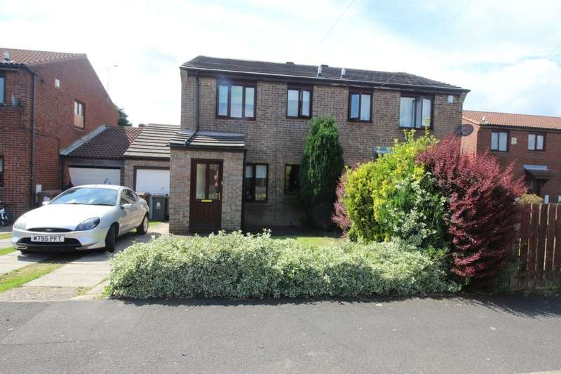 3 Bedrooms Semi Detached House for sale in Reed Avenue, Camperdown, Newcastle Upon Tyne, NE12