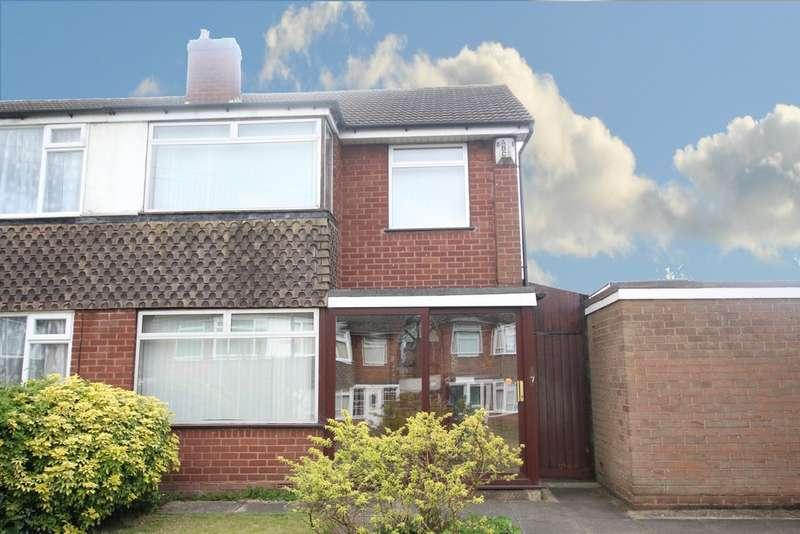 3 Bedrooms Semi Detached House for sale in Compton Road,Erdington, Birmingham, B24 8QA