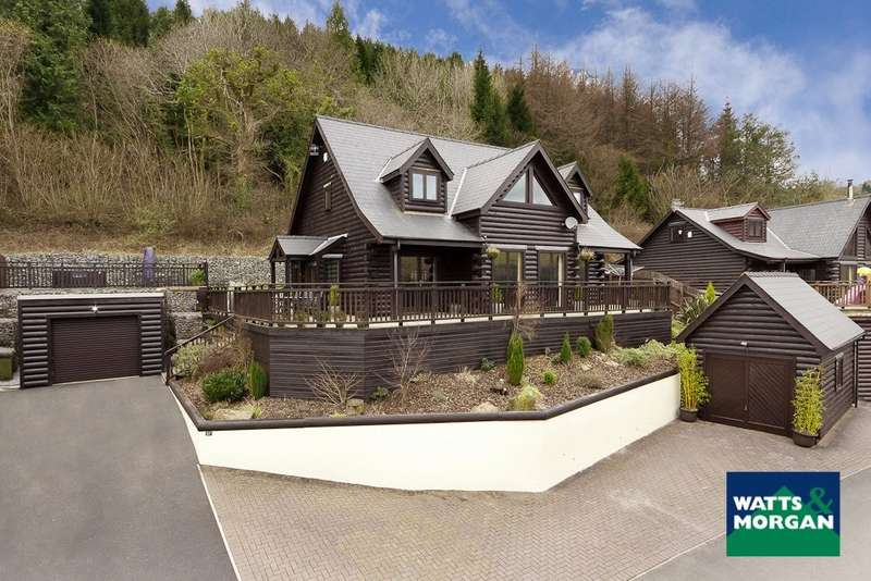 4 Bedrooms Detached House for sale in Oakmead Road, Meiros Valley, Llanharan, Rhondda Cynon Taff, CF72 9FB