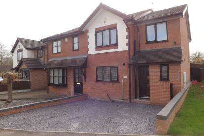 3 Bedrooms Semi Detached House for sale in Springfield Drive, Kidsgrove, Stoke-On-Trent, Staffordshire