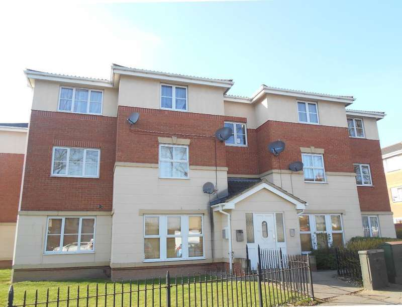 2 Bedrooms Flat for sale in Gillespie Close, Bedford, Bedfordshire, MK42 9JH