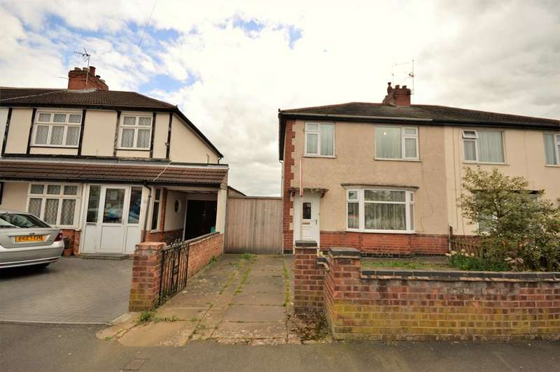 3 Bedrooms Semi Detached House for sale in Marstown Avenue, Wigston, LE18 4UH