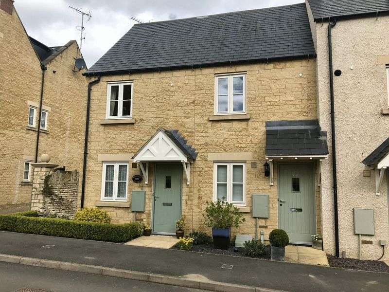 1 Bedroom Terraced House for sale in Churn Meadows - Stratton - Cirencester - GL7
