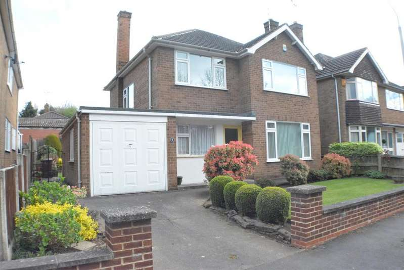3 Bedrooms Detached House for sale in Oakham Close, Mansfield