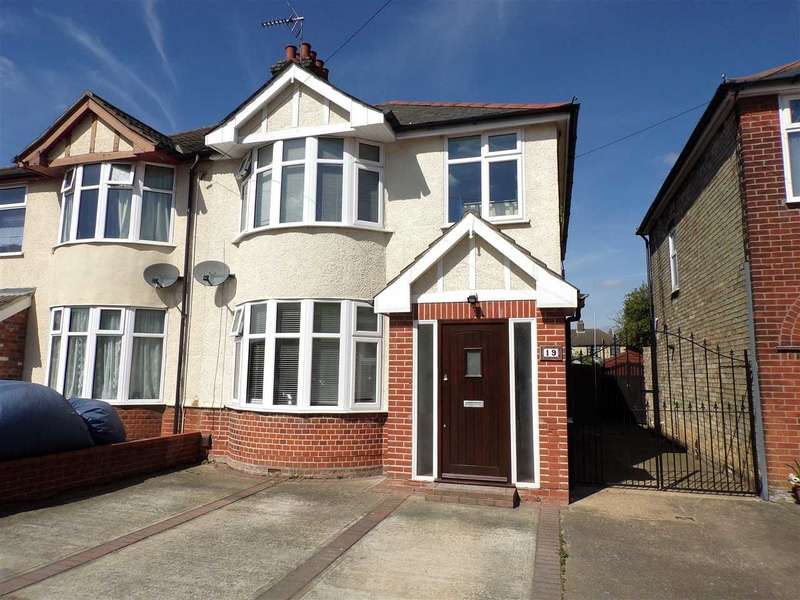 3 Bedrooms Semi Detached House for sale in Whitby Road, Ipswich