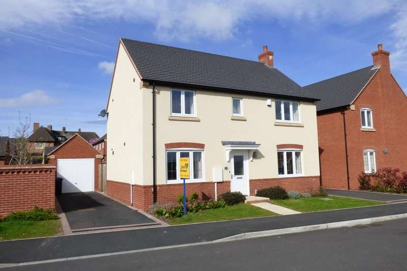 4 Bedrooms Detached House for sale in Wilson Way, Burton-on-Trent