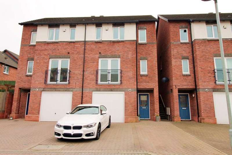 3 Bedrooms Town House for sale in St Josephs Gardens, Carlisle