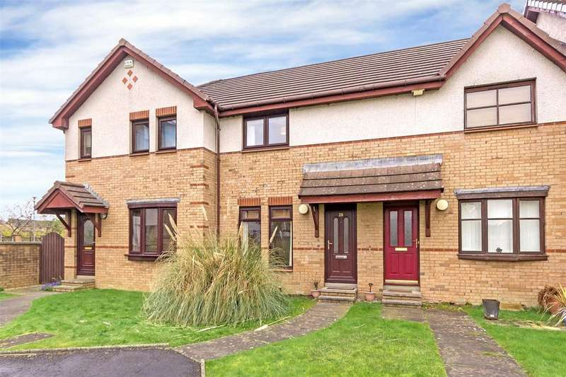 2 Bedrooms Terraced House for sale in 28 Temple Locks Court, Anniesland, Glasgow, G13
