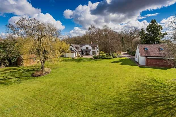 4 Bedrooms Country House Character Property for sale in Coton, Bridgnorth, Shropshire