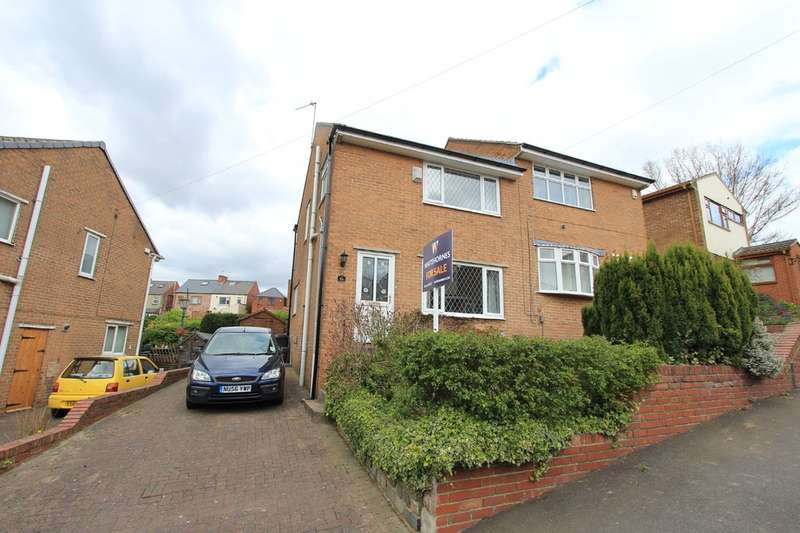 3 Bedrooms Semi Detached House for sale in Moor View Road, Abbey lane