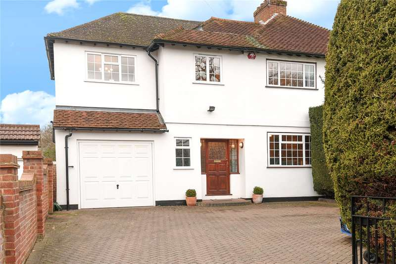 4 Bedrooms Semi Detached House for sale in Pinner Hill Road, Pinner, Middlesex, HA5