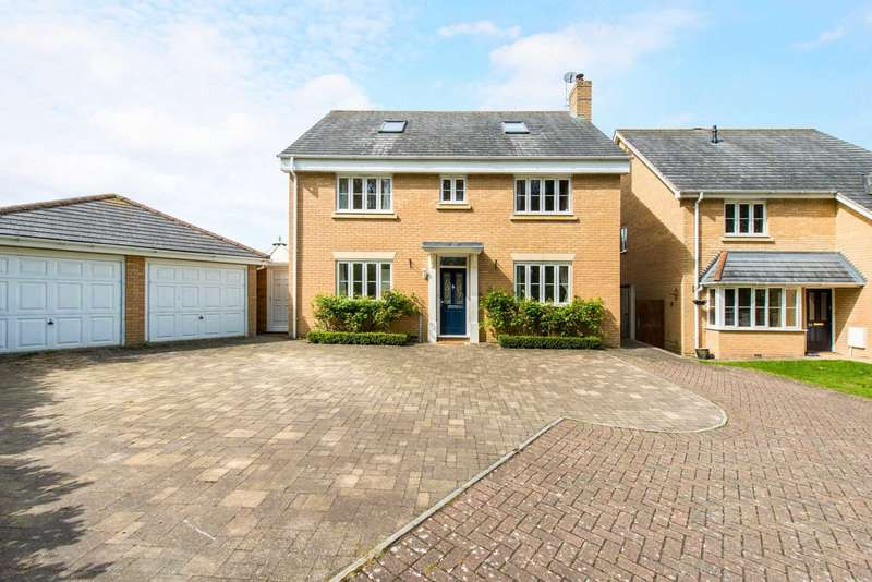 5 Bedrooms Detached House for sale in Hever Close, Pitstone