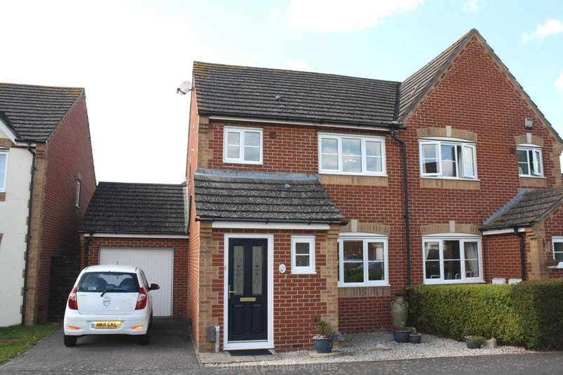 3 Bedrooms Semi Detached House for sale in Minerva Drive, Priddy`s Hard
