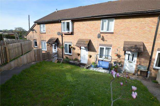 3 Bedrooms Terraced House for sale in Broadridge Close, Newton Abbot, Devon
