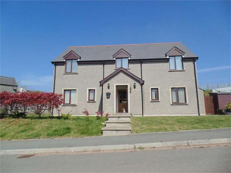 5 Bedrooms Detached House for sale in Liddeston, Milford Haven