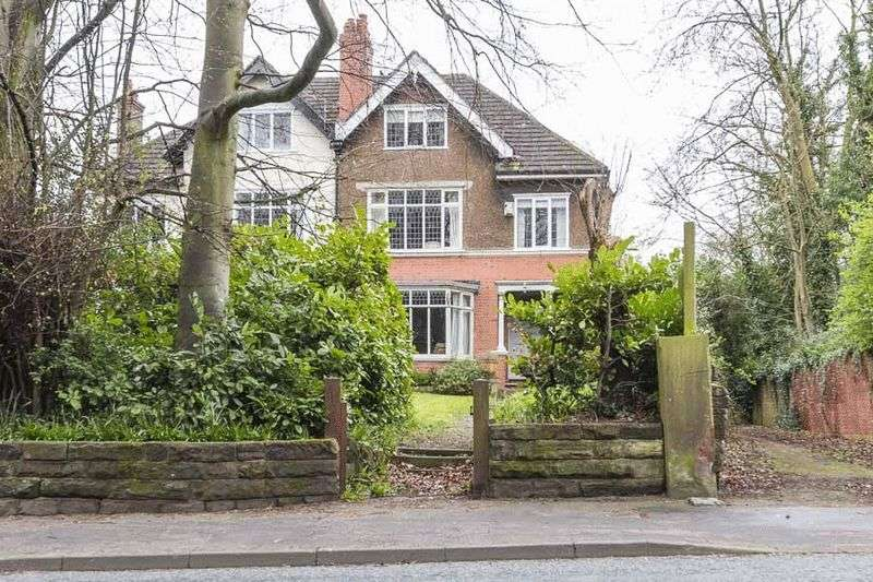 6 Bedrooms Semi Detached House for sale in Chester Road, Northwich, CW8 4AD