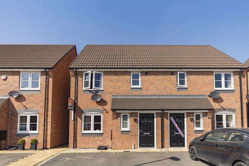 3 Bedrooms Semi Detached House for sale in HILLINGDON AVENUE, MACKWORTH