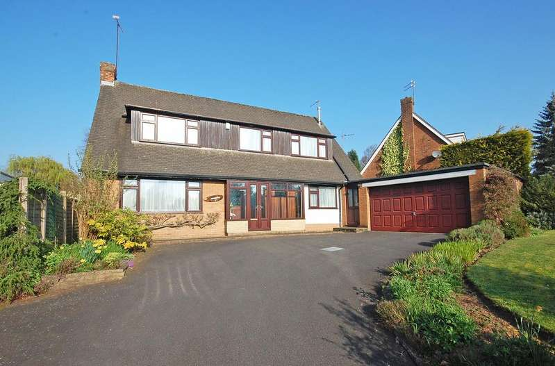 4 Bedrooms Detached House for sale in PERTON BROOK VALE, Wightwick, Wolverhampton WV6