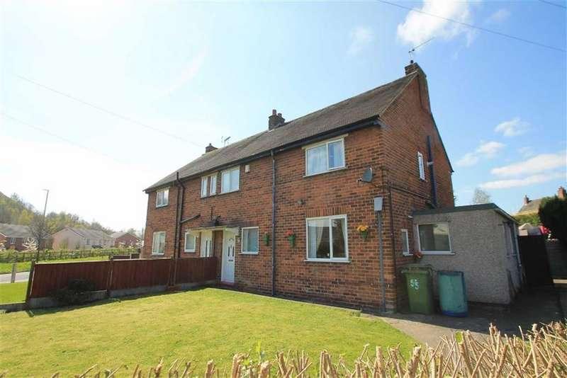 3 Bedrooms Semi Detached House for sale in Maes Y Gwanwyn, Rhostyllen, Wrexham