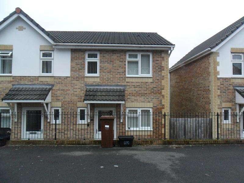 2 Bedrooms Semi Detached House for sale in Brynmorgrug, Pontardawe, Swansea.