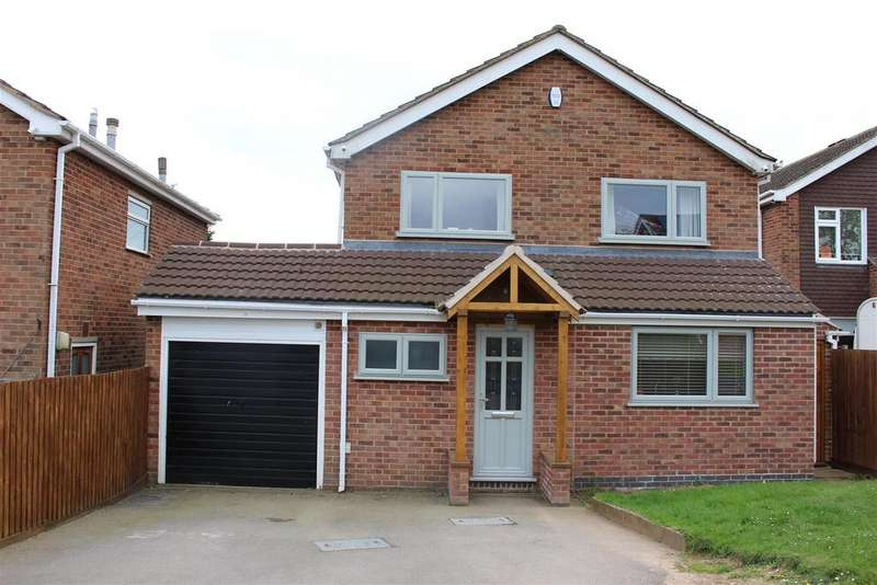 4 Bedrooms Detached House for sale in Baldwin Rise, Broughton Astley, Leicester