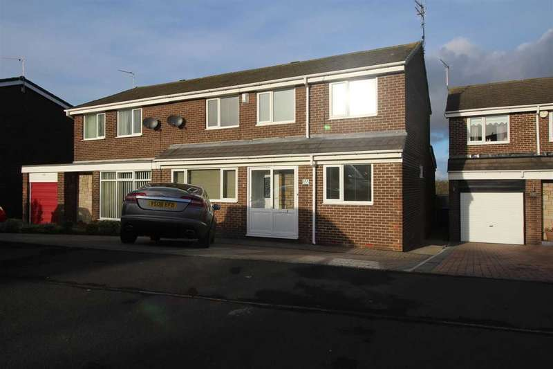 5 Bedrooms Semi Detached House for sale in Newlyn Drive, Parkside Dale, Cramlington