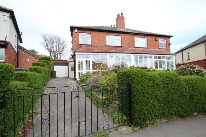 3 Bedrooms Semi Detached House for sale in WENSLEY ROAD, LEEDS, LS7 2LS