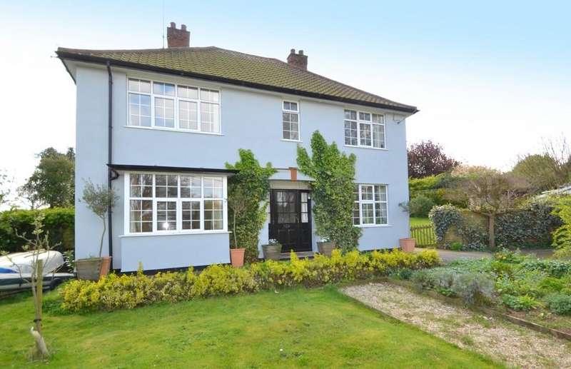 4 Bedrooms Detached House for sale in Cliff Road, Waldringfield, Woodbridge, Suffolk