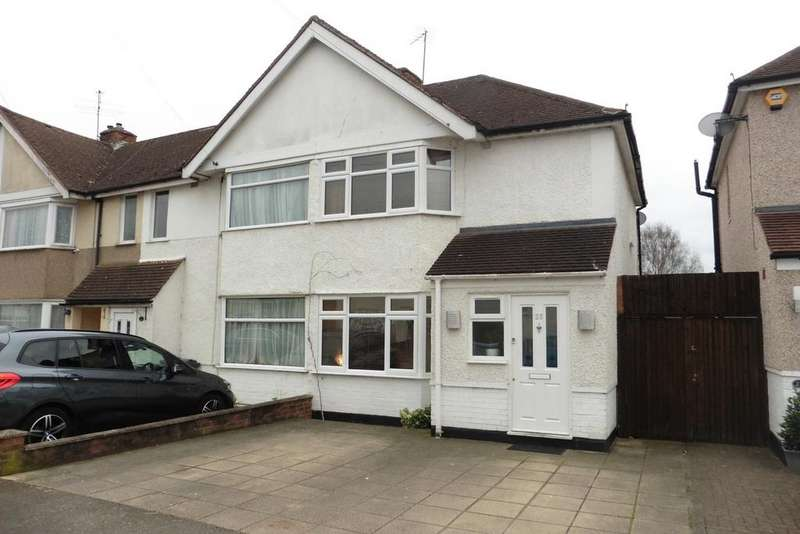 2 Bedrooms End Of Terrace House for sale in Ellington Road, Lower Feltham, TW13