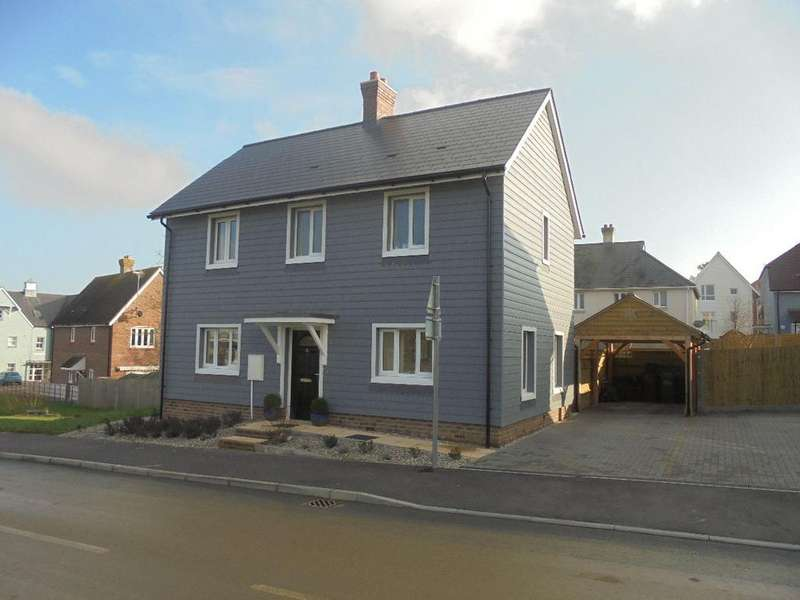 3 Bedrooms Detached House for sale in Peacocke Way, Rye