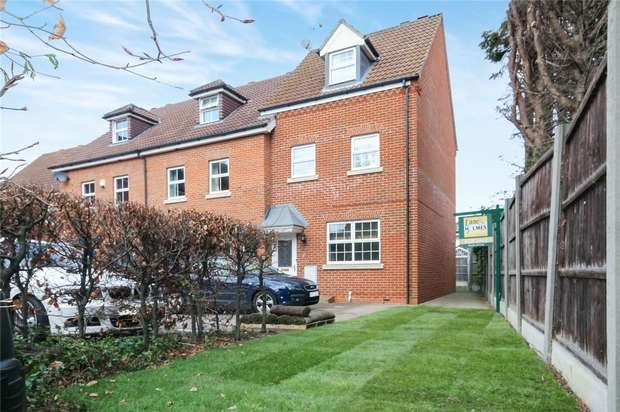 3 Bedrooms End Of Terrace House for sale in Abrahams Close, Bedford