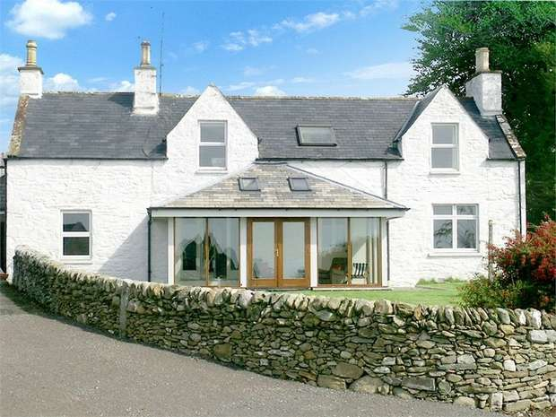 4 Bedrooms Detached House for sale in Gatehouse of Fleet, Castle Douglas, Dumfries and Galloway