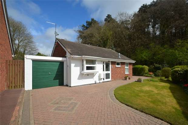 2 Bedrooms Detached Bungalow for sale in Westerkirk Drive, Madeley, Telford, Shropshire