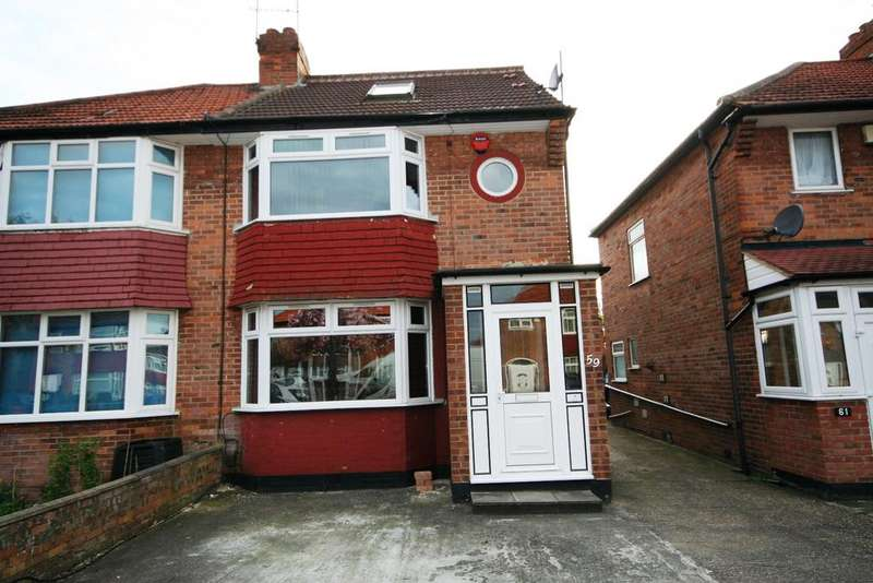 4 Bedrooms Semi Detached House for sale in Orchard Grove, Edgware HA8