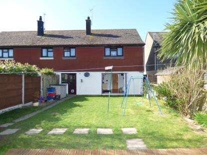 3 Bedrooms Semi Detached House for sale in Traffwll Road, Caergeiliog, Holyhead, Sir Ynys Mon, LL65