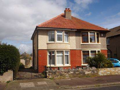 3 Bedrooms Semi Detached House for sale in Ellesmere Road, Morecambe, LA4