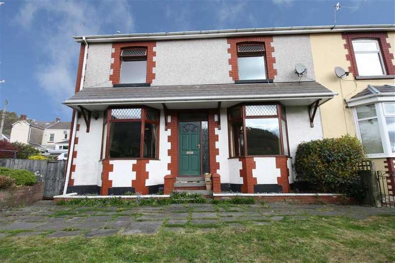 3 Bedrooms Semi Detached House for sale in Duffryn Villas, Godreaman, Aberdare, Mid Glamorgan