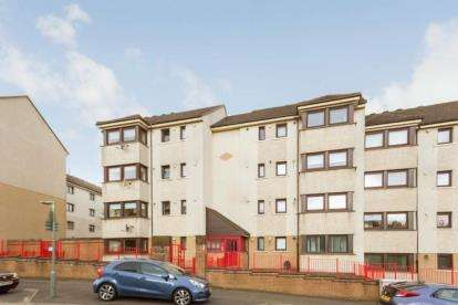 2 Bedrooms Flat for sale in Birgidale Road, Glasgow