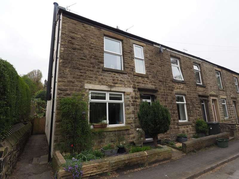 3 Bedrooms End Of Terrace House for sale in High Lea Road, New Mills, High Peak, Derbyshire, SK22 3DP