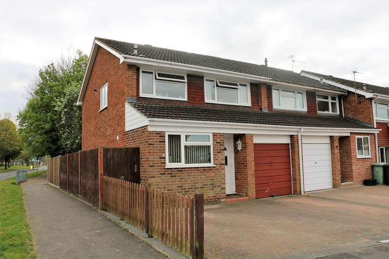 3 Bedrooms End Of Terrace House for sale in Purcell Close, Brighton Hill, Basingstoke, RG22