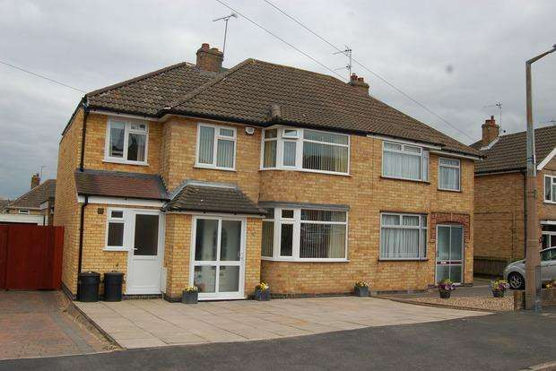 4 Bedrooms Semi Detached House for sale in Eastway Road, Wigston Fields, Leicester, LE18