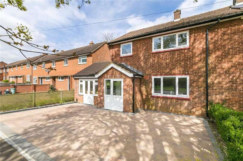 4 Bedrooms Semi Detached House for sale in Cavan Drive, St. Albans, Hertfordshire